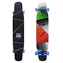 abordables Skateboarding-124 * 25cm Skateboard completo / Longboards Arce Deporte Duradero Amarillo / Rosa / Arco iris