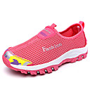 cheap Women's Athletic Shoes-Women's Shoes PU(Polyurethane) Spring / Fall Athletic Shoes Hiking Shoes Flat Heel Dark Blue / Purple / Rose Red