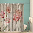 preiswerte Duschvorhänge-Duschvorhänge & Ringe Klassisch Polyester Neuheit Maschinell gefertigt Wasserfest Bad