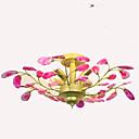 tanie Lampy stołowe-QIHengZhaoMing 4 światła Żyrandol Światło rozproszone - Ochrona oczu, 110-120V / 220-240V Żarówka w zestawie / 15/10 ㎡