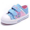 baratos Sapatos de Menina-Para Meninas Sapatos Lona Primavera Conforto Tênis para Azul Escuro / Rosa claro / Azul Claro
