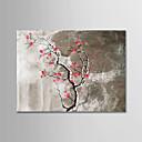 ieftine Picturi în Ulei-Hang-pictate pictură în ulei Pictat manual - Natură moartă Modern Fără a cadru interior / Canvas laminat