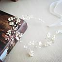 tanie Imprezowe nakrycia głowy-Imitacja pereł / Kryształ górski Opaski na głowę z Kryształ górski / Sztuczna perła 1 szt. Ślub / Impreza / bal Winieta