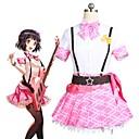 tanie Kostiumy anime-Zainspirowany przez BanG Dream Cosplay Anime Kostiumy cosplay Garnitury cosplay Inne Krótki rękaw Krawat / Top / Spódnica Na Unisex Kostiumy na Halloween