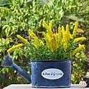 tanie Sztuczny kwiat-Sztuczne Kwiaty 1 Gałąź Rustykalny Jasnoniebieski Bukiety na stół