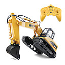 cheap Eye Kits & Palettes-RC Car 1550 8CH 2.4G Excavator 1:14 Brush Electric 30 km/h KM/H