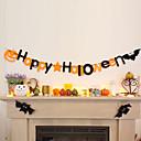 preiswerte Wand-Sticker-Halloween Vließstoff / Nicht gewebt Hochzeits-Dekorationen Häuser Winter