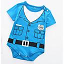 ieftine Set Îmbrăcăminte Bebeluși-Bebelus Unisex De Bază Zilnic / Concediu Imprimeu Mânecă scurtă Bumbac bodysuit Negru 80