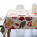 povoljno Posude za kuhanje-Suvremena PVC / Netkani Kvadrat Podmetači za stolice Cvjetni print Dekoracije stolova 1 pcs