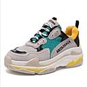 cheap Women's Sandals-Women's Shoes Leather Spring Comfort Sneakers Platform Black / Beige / Yellow