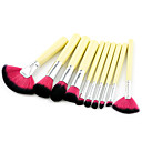preiswerte Wimpern Accessoires-10-Pack Makeup Bürsten Professional Bürsten-Satz- Umweltfreundlich / Weich Plastik / Holz / Bambus