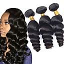 tanie Dopinki w naturalnych kolorach-4 zestawy Włosy peruwiańskie Falisty Włosy naturalne Przedłużenia z naturalnych włosów Ludzkie włosy wyplata rozbudowa / Gorąca wyprzedaż Kolor naturalny Ludzkich włosów rozszerzeniach Wszystko