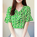 cheap Bracelets-Women's Basic Blouse - Geometric Print