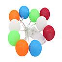 tanie Światła LED-1.5 m Łańcuchy świetlne 10 Diody LED Dip LED Ciepła biel Dekoracyjna Zasilanie bateriami AA 1 szt.