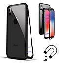 abordables Accesorios para Manicura-Funda Para Apple iPhone 8 / iPhone 8 Plus Flip / Transparente Funda de Cuerpo Entero Un Color Dura Vidrio Templado para iPhone X / iPhone