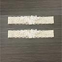 billiga Strumpeband till bröllop-Spets Vintage Stil Bröllopskläder Med Spets / Våd Strumpeband Bröllop / Fest / afton