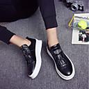 זול נעלי אוקספורד לגברים-בגדי ריקוד גברים PU קיץ נוחות נעליים ללא שרוכים לבן / שחור / אדום