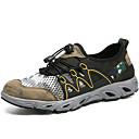 זול נעלי ספורט לגברים-בגדי ריקוד גברים טול / PU סתיו נוחות נעלי אתלטיקה טיפוס / הליכה קולור בלוק אפור / חאקי