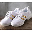 olcso Divat fülbevalók-Női Tánccipők Tüll Sportcipő Alacsony Dance Shoes Fehér / Teljesítmény / Gyakorlat