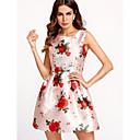 abordables Bolsos de Mano y Bolsos de Noche-Mujer Vaina Vestido Floral Mini