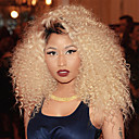 billige Baderomskraner-3 pakker med lukking Brasiliansk hår Krøllet Remy-hår Nyanse / Hairextensions med menneskehår / Hår Veft Med Lukker Blond Hårvever med menneskehår Naturlig / Hot Salg / Ombre-hår Hairextensions med
