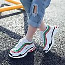 ieftine Pantofi Fetițe-Fete Pantofi Tul Primavara vara Confortabili Adidași Dantelă pentru Alb / Negru