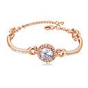 povoljno Naušnice-Lenonice Narukvica dame slatko Moda Elegantno Narukvice Jewelry Zlato / Pink / Rose Gold Za Vjenčanje Party