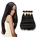 cheap Clutches & Evening Bags-peruvian virgin hair 4 bundle straight human hair weaves natural black peruvian straight hair 8-26 inch