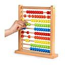 baratos Brinquedos Ábaco-Ábaco Requintado Tema Clássico / Família De madeira 100pcs Peças Dom