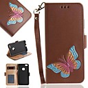 cheap Cell Phone Cases & Screen Protectors-Case For Samsung Galaxy S8 S7 Card Holder Wallet Flip Full Body Cases Butterfly Hard PU Leather for S8 S7 edge S7