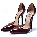 ieftine Pantofi Sport de Damă-Pentru femei Pantofi PU Primavara vara Balerini Basic Tocuri Toc Stilat Vârf ascuțit Rosu / Roșu Vin / Migdală / Nuntă / Party & Seară