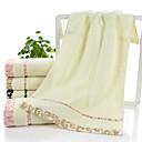 זול מגבת רחצה-איכות מעולה מגבת רחצה, משובץ פולי / כותנה 1 pcs