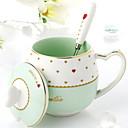 abordables Tazas-Vasos Porcelana Tazas de Café Termoaislante 1pcs