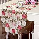 cheap Table Runners-Casual PVC(PolyVinyl Chloride) Square Placemat Embroidered Table Decorations 1 pcs