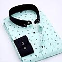 billige Dresser-Skjorte Herre - Stripet / Geometrisk Grunnleggende