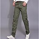abordables Ropa de fitness, running y yoga-Hombre Simple Corte Ancho Chinos Pantalones - Un Color
