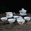 abordables Café y Té-8pcs Porcelana Juego de Té Resistente al calor ,  9.5*9.5*9;12*8*6.5;6.5*6.5*3cm