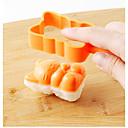 رخيصةأون أدوات الطبخ-ادوات المطبخ البلاستيك تصميم جديد قالب DIY كرات الأرز 4PCS