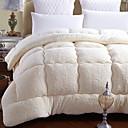 billige Quilts og sengetepper-Komfortabel - 1 stk dækken Vinter Organisk Fiber Ensfarget