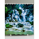 cheap Shower Curtains-Shower Curtains & Hooks Country Polyester 3D Machine Made Waterproof Bathroom