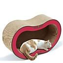 abordables Cuencos y Comederos para Perro-Gatos Camas Mascotas Forro Un Color Creativo Entrenador Alivia el Estrés Duradero Rojo Verde Para mascotas