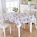 זול משטחי שולחן-עכשווי ריבוע כיסויי שולחן פרחוני / גיאומטרי לוח קישוטים 1 pcs