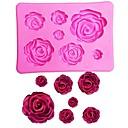 זול תבניות לעוגות-1pc ג'ל סיליקון 3D חג האהבה לעוגה עוגות Moulds כלי Bakeware