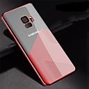 ieftine Cazuri telefon & Protectoare Ecran-Maska Pentru Samsung Galaxy S9 Plus / S9 Placare / Ultra subțire / Transparent Capac Spate Linii / Valuri Moale TPU pentru S9 / S9 Plus
