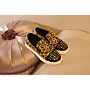 cheap Girls' Shoes-Girls' Shoes Nubuck leather Spring & Fall Comfort Loafers & Slip-Ons for Black / Leopard