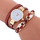 preiswerte Armband-Uhren-Damen Armband-Uhr Quartz Weiß / Blau / Rot Armbanduhren für den Alltag Imitation Diamant Analog damas Böhmische Modisch - Rot Grün Blau Ein Jahr Batterielebensdauer