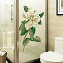 ieftine Film & Acțibild De Geam-Fereastră de film și autocolante Decor Floral / Contemporan Floral PVC Autocolant Geam / Mat