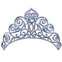 זול הד פיס למסיבות-סגסוגת אביזר לשיער עם ריינסטון 1pc חתונה / יום הולדת כיסוי ראש