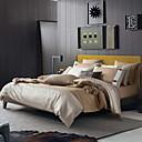 preiswerte LED Glühbirnen-Bettbezug-Sets Stripes / Ripples Polyester / Baumwolle Reaktivdruck 4 Stück