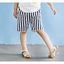 זול מכנסיים וטייץ לבנות-מכנסיים פסים יוניסקס ילדים